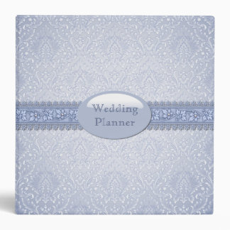 Elegant Blue Wedding Planner Binder
