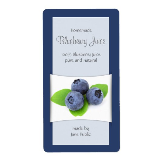 Elegant Blueberry Juice or Jam