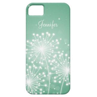 Elegant Bridesmaid Favor Summer Sparkle Mint Green iPhone 5 Case