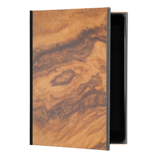 "Elegant Brown Faux Wood No.2 iPad Pro 9.7"" Case"