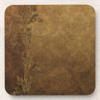 Elegant Brown Tuscan Coaster