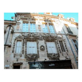 Elegant buildings in Dijon, Burgundy, France Postcard