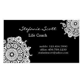 Elegant Business Card in Black and White