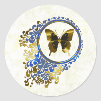 Elegant Butterfly envelope seals