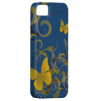 Elegant Butterfly Swirl iPhone 5 Cover