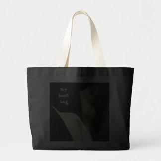 Elegant Calla Lillies Book Bag Jumbo Tote Bag