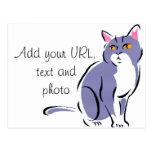 Elegant Cat Post Cards