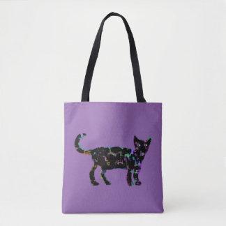 Elegant Cat Tote Bag