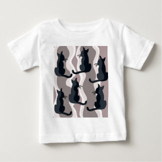 Elegant cats baby T-Shirt