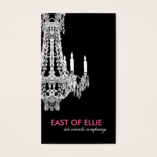 Elegant Chandelier Business Card
