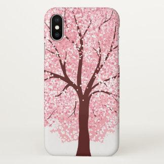 Elegant Cherry Blossom in Bloom | iPhone X Case
