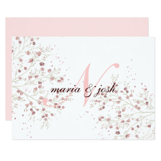 Elegant Cherry Blossom, Wedding Invitation
