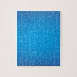 Elegant & Chic Beautiful Blue Watercolor Puzzle