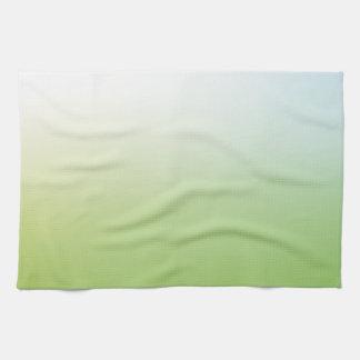 Elegant & Chic Beautiful Blue White Green Watercol Towel