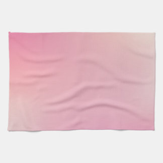 Elegant & Chic Beautiful Gold and Pink Watercolor Hand Towel