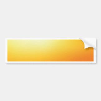 Elegant & Chic Beautiful Golden Sun Watercolor Bumper Sticker