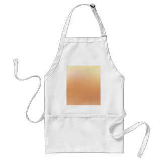 Elegant & Chic Beautiful Golden Sun Watercolor Standard Apron
