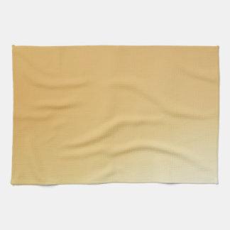Elegant & Chic Beautiful Golden Sun Watercolor Towel