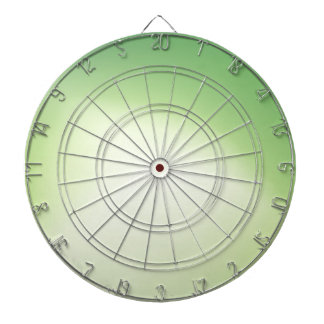 Elegant & Chic Beautiful Green and Gold Watercolor Dartboards