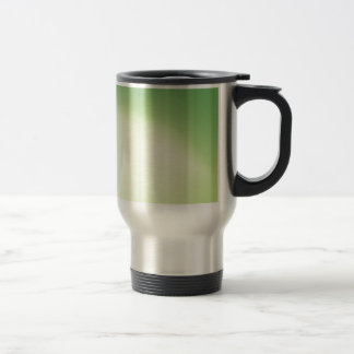 Elegant & Chic Beautiful Green and Gold Watercolor Travel Mug