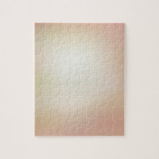 Elegant & Chic Beautiful Rose Pink Gold Watercolor Puzzle
