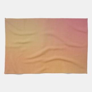 Elegant & Chic Beautiful Rose Pink Gold Watercolor Towels