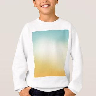Elegant & Chic Beautiful Teal White Gold Watercolo Sweatshirt
