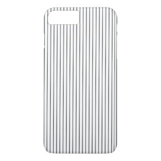 Elegant Chic Black White Striped iPhone 7 Plus Case