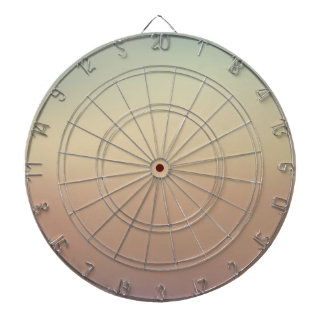 Elegant & Chic Blue and Rose Gold Watercolor Dartboard