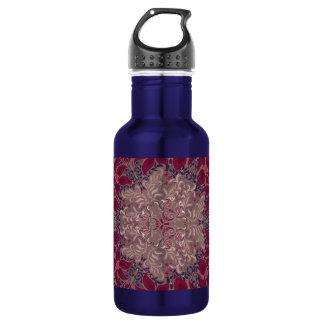 Elegant chic boho stylish floral pattern 532 ml water bottle
