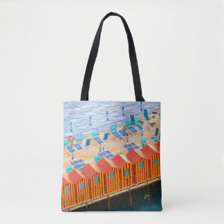 Elegant Chic Cabanas of Sorrento Tote Bag