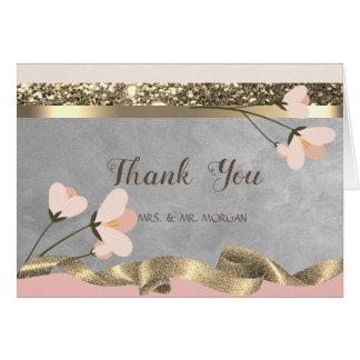 Elegant Chic Floral Card