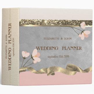 Elegant Chic Floral Wedding Binder