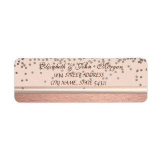 Elegant  Chic Luxury -Diamonds Address Label