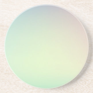 Elegant & Chic Ombre Pink and Teal Watercolor Drink Coasters