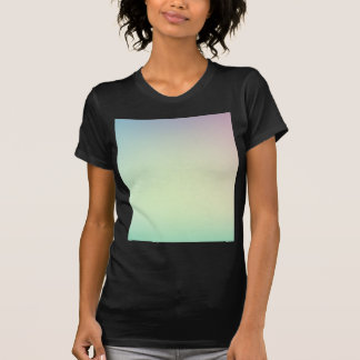 Elegant & Chic Ombre Pink and Teal Watercolor T-Shirt