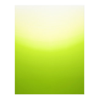 Elegant & Chic Ombre Yellow and Green Watercolor Letterhead Template