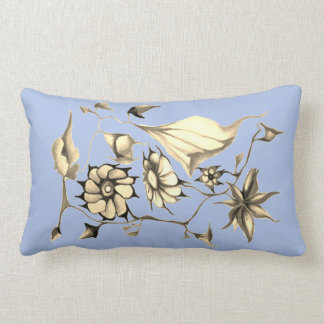 Elegant Chic Whimsical Enchanting Exotic Sepia Lumbar Pillow