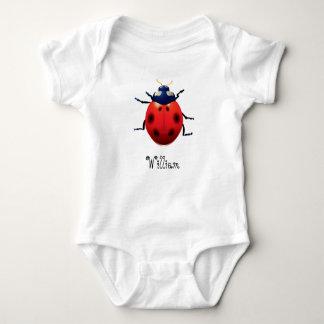 Elegant Chic Whimsical Exotic Ladybug -Custom Baby Bodysuit