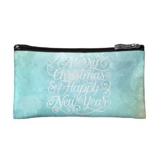 Elegant Christmas and New Year | Cosmetic Bag