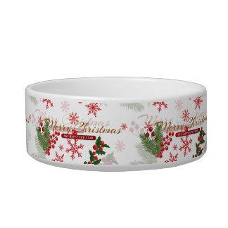 Elegant Christmas Bowl