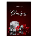 Elegant Christmas Dinner Party Invitations Pack Of Chubby Business Cards