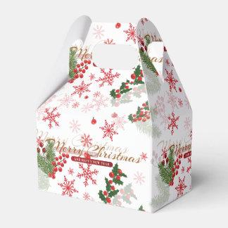 Elegant Christmas Favor Box
