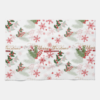 Elegant Christmas Kitchen Towel