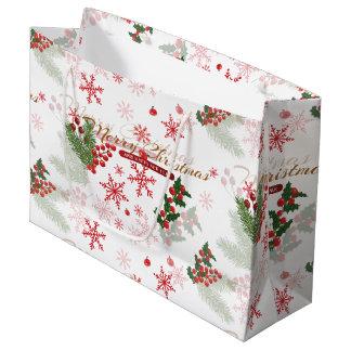 Elegant Christmas Large Gift Bag