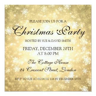 Elegant Christmas Party Invitations Announcements Zazzle Canada