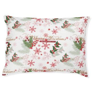 Elegant Christmas Pet Bed