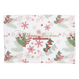 Elegant Christmas Pillowcase