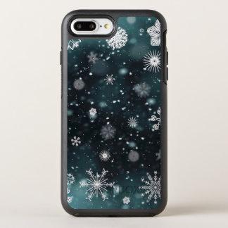 Elegant Christmas Snowflakes | Phone Case