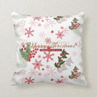 Elegant Christmas Throw Pillow